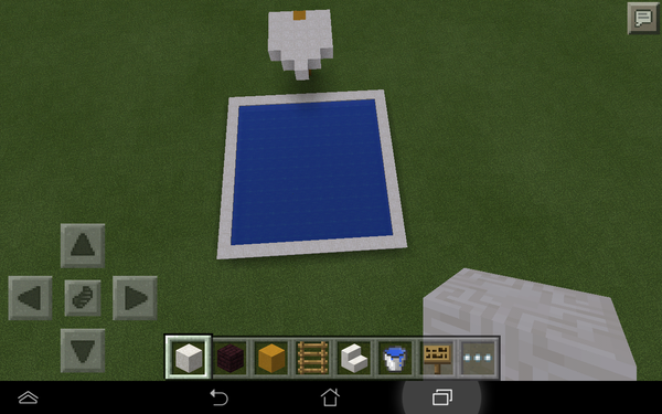 How to Make an Awesome Minecraft Pool and Diving Board!