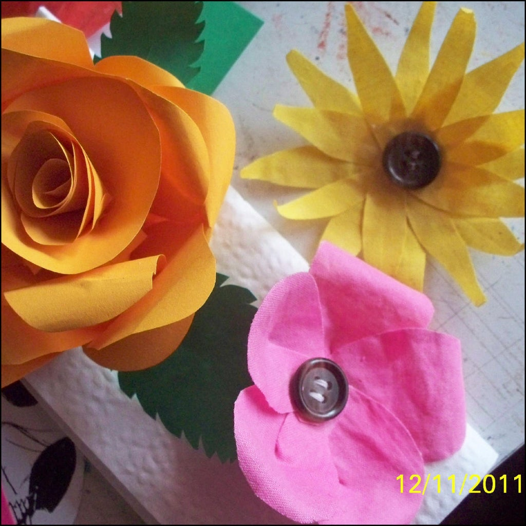 Make Other Flowers As Well