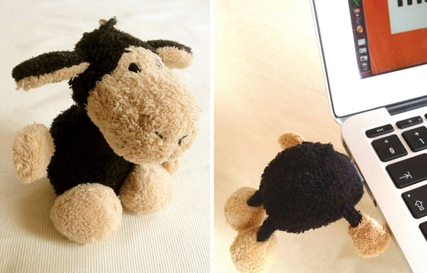 The Nosey USB-Sheep