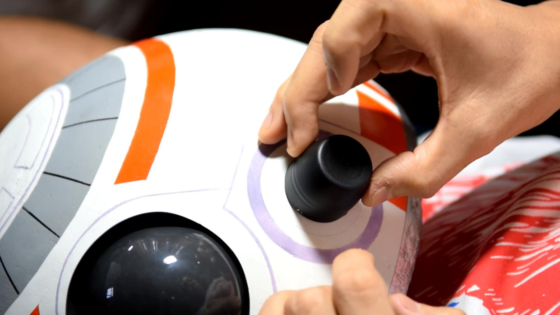 More Parts and Details for BB8's Head