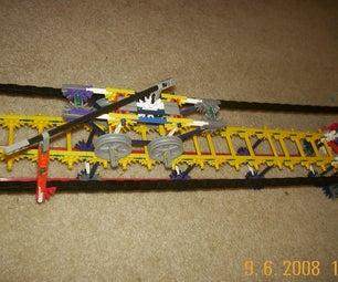 K'NEX Rail Car and Track