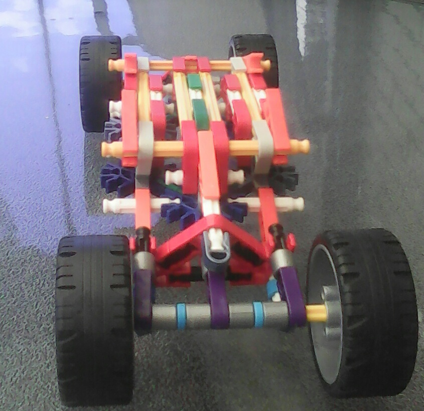 Knex Car With Suspension Without Elastic Bands