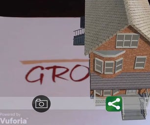 Screenshot of Augmented Reality View and Sharing It on Facebook