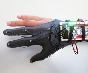 DIY Glove Controller With E-Textile Sensors