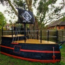 How to Make Your Own Pirate Ship Playhouse