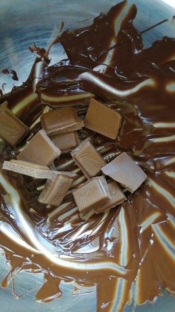 Apply Second Coat of Chocolate