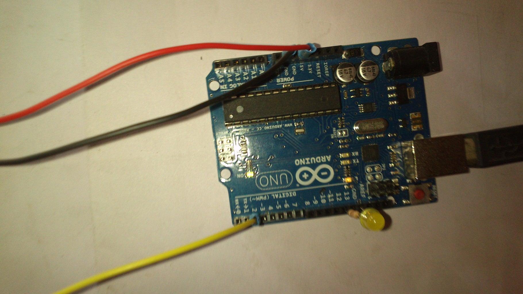 Interfacing to Arduino