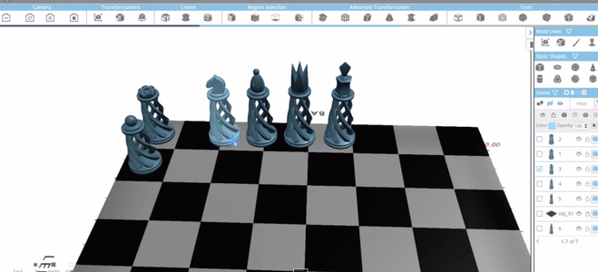 Creating the ChessBoard