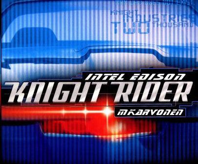 Intel Edison: Knight Rider
