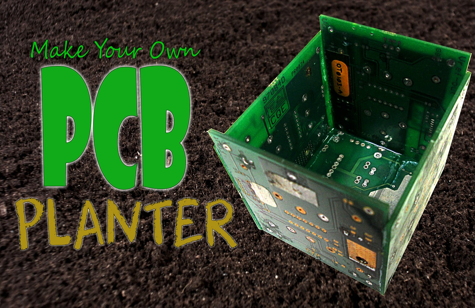 Make Your Own PCB PLANTER