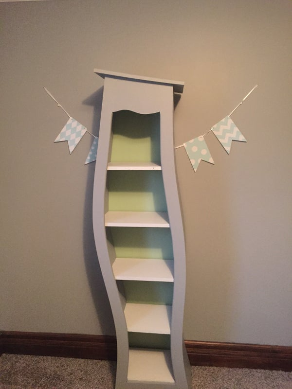 Dr Seuss Inspired  Bookcase