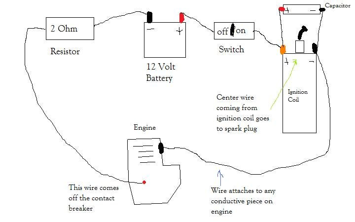 12 Volt Ignition Coil Wiring Diagram from content.instructables.com