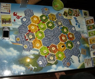 Settlers of Catan Playing Board