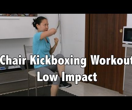 Quick Low Impact Chair Kickboxing Workout