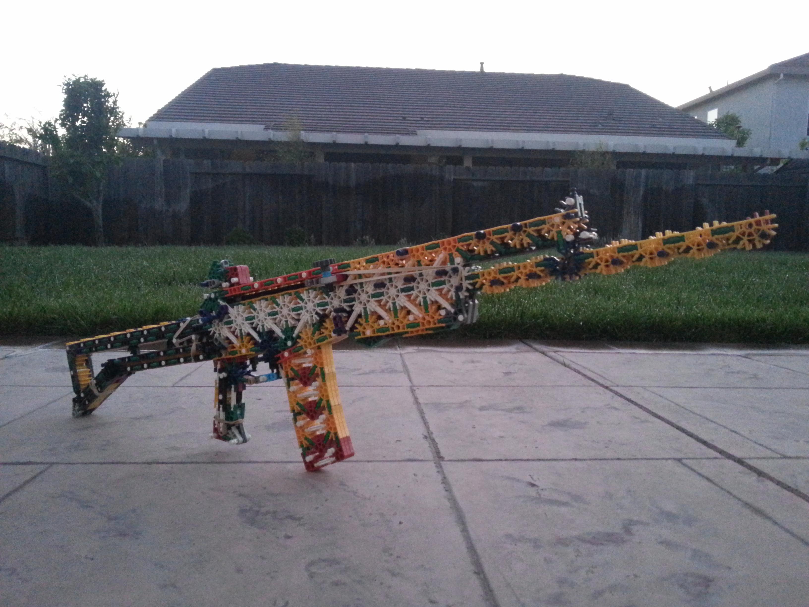 Knex Gun: Galil