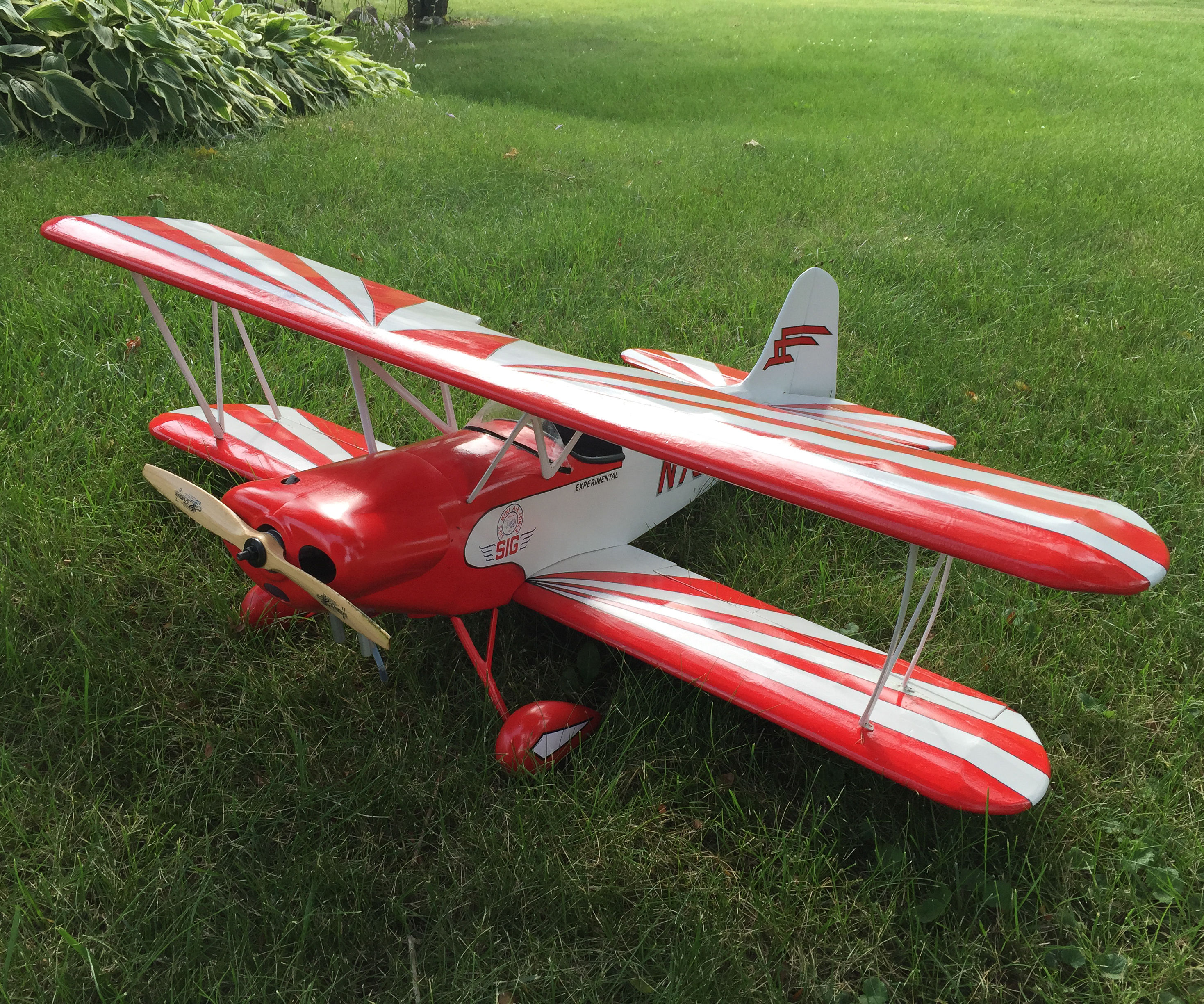 Balsa RC Airplane