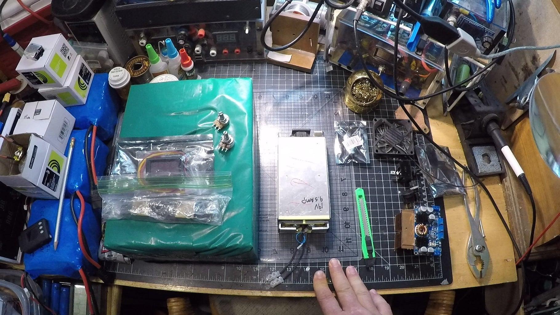 Unbox & Inspect All Parts & Pieces