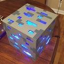 Minecraft Diamond Ore Lamp