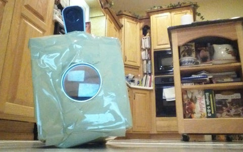 Duct Tape and Cardboard Projector