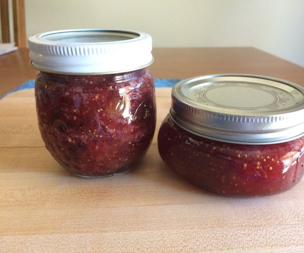 Canning Strawberry Fig Preserves