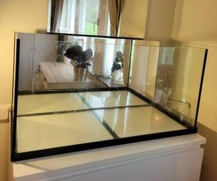 How To: DIY Mirror Background in Aquarium/ Terrarium/ Paludarium
