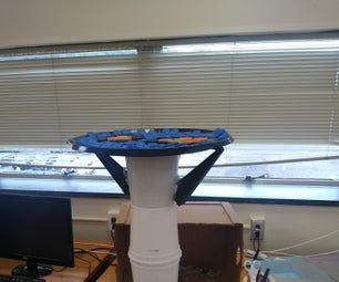 Recycled/Upcycled Plastic Endtable