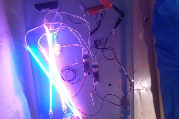 Direct Sound Input Mod for Piezo Sound Sensitive CCFL Transformer.