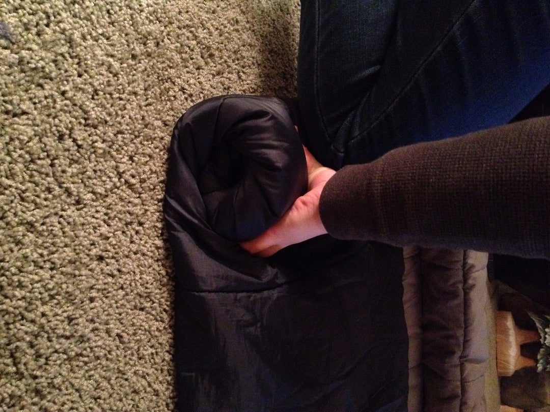 Roll Up the Sleeping Bag