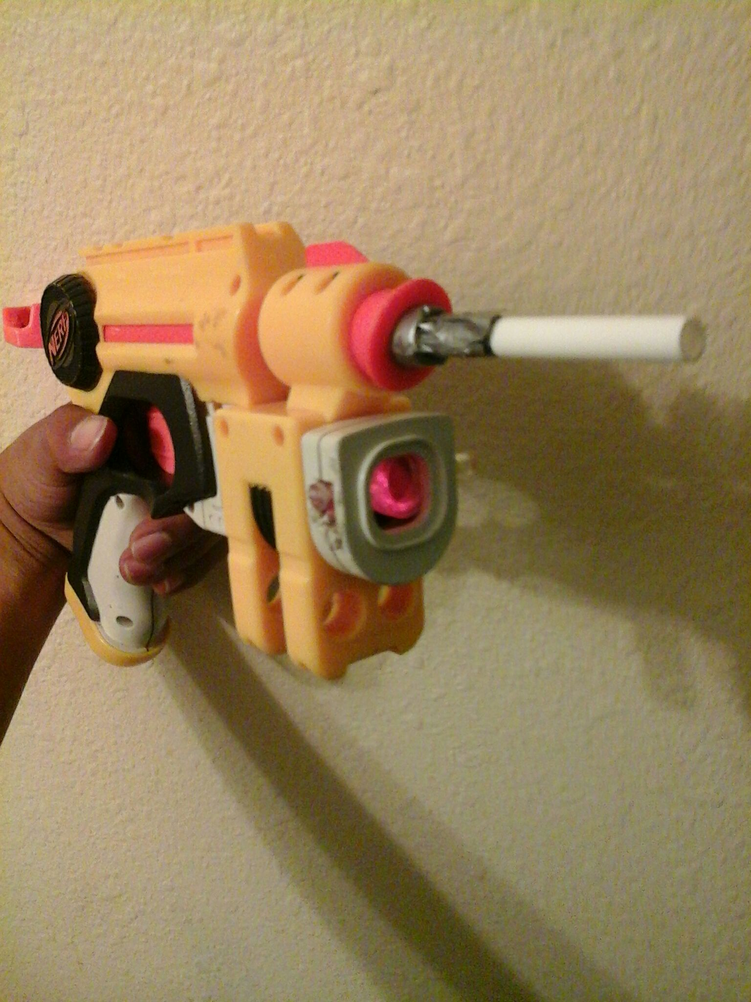 Nerf Nitefinder Modification ( Airsoft mod )