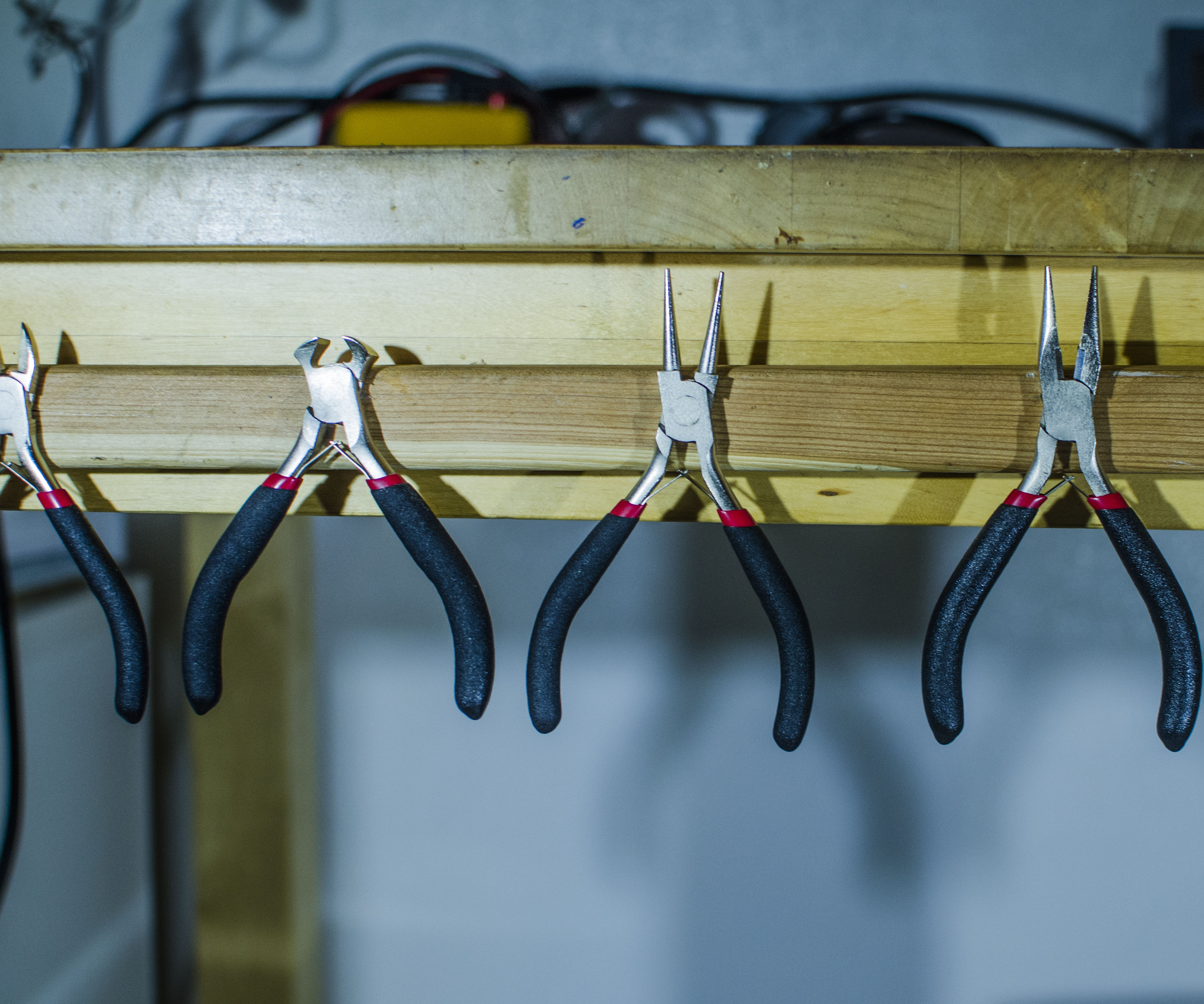 Simple Magnetic Tool Rack