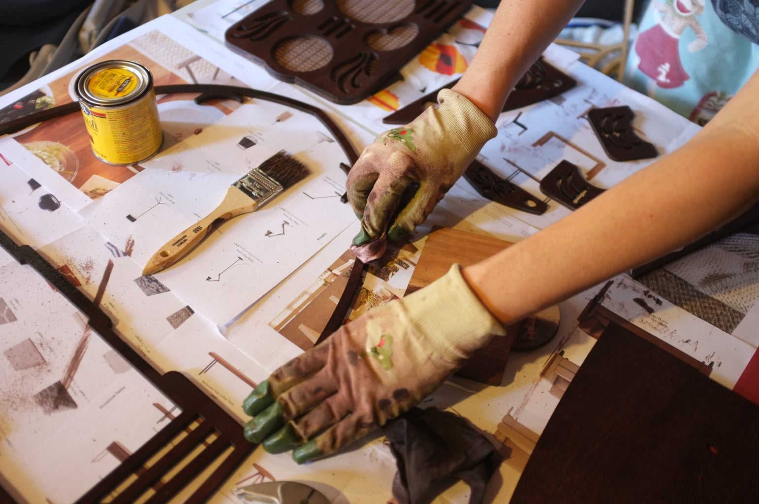 Preparing the Trim Pieces
