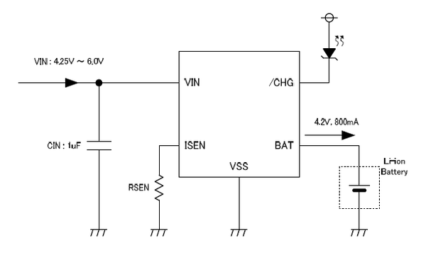 1 Cell LiPo / Li-ion Battery Charger CC&CV