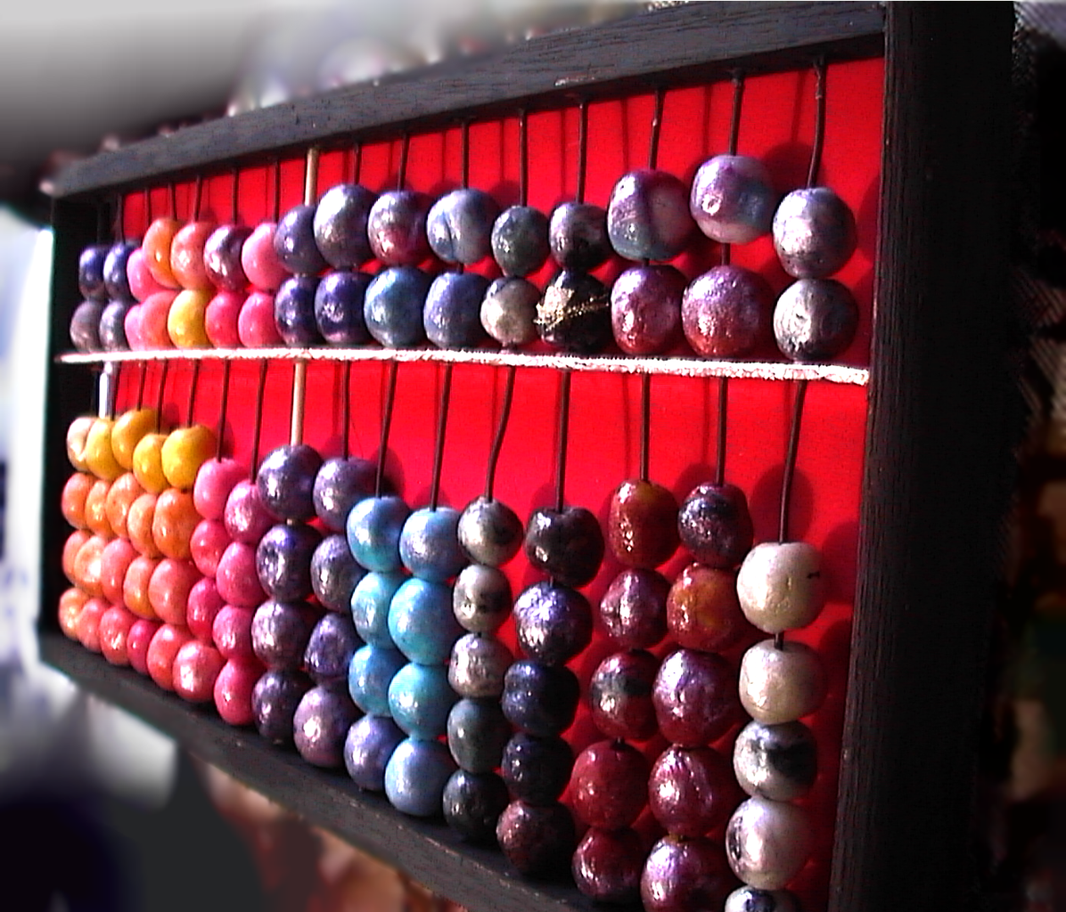 Make Cold Porcelain Clay Beads & Wooden Toy Abacus (Soroban)