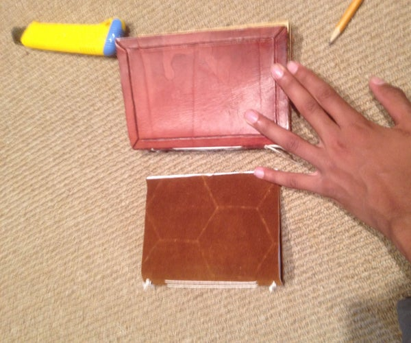 Leather Journal From Scratch
