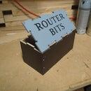 Router Bit Storage Box
