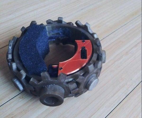 Steampunk, Moving Gear Bracelet