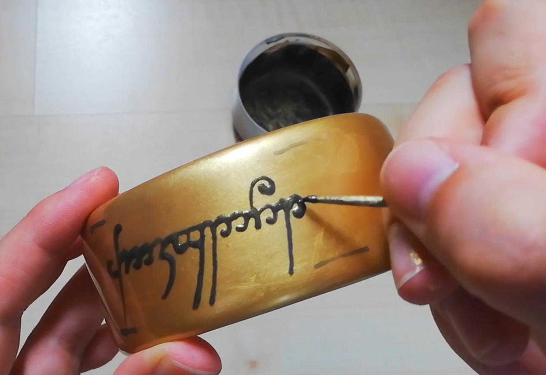 Write the Language of Mordor