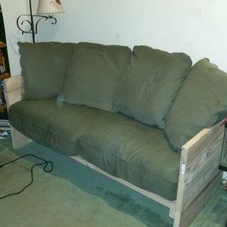 HomeMade Modern DIY Box Sofa