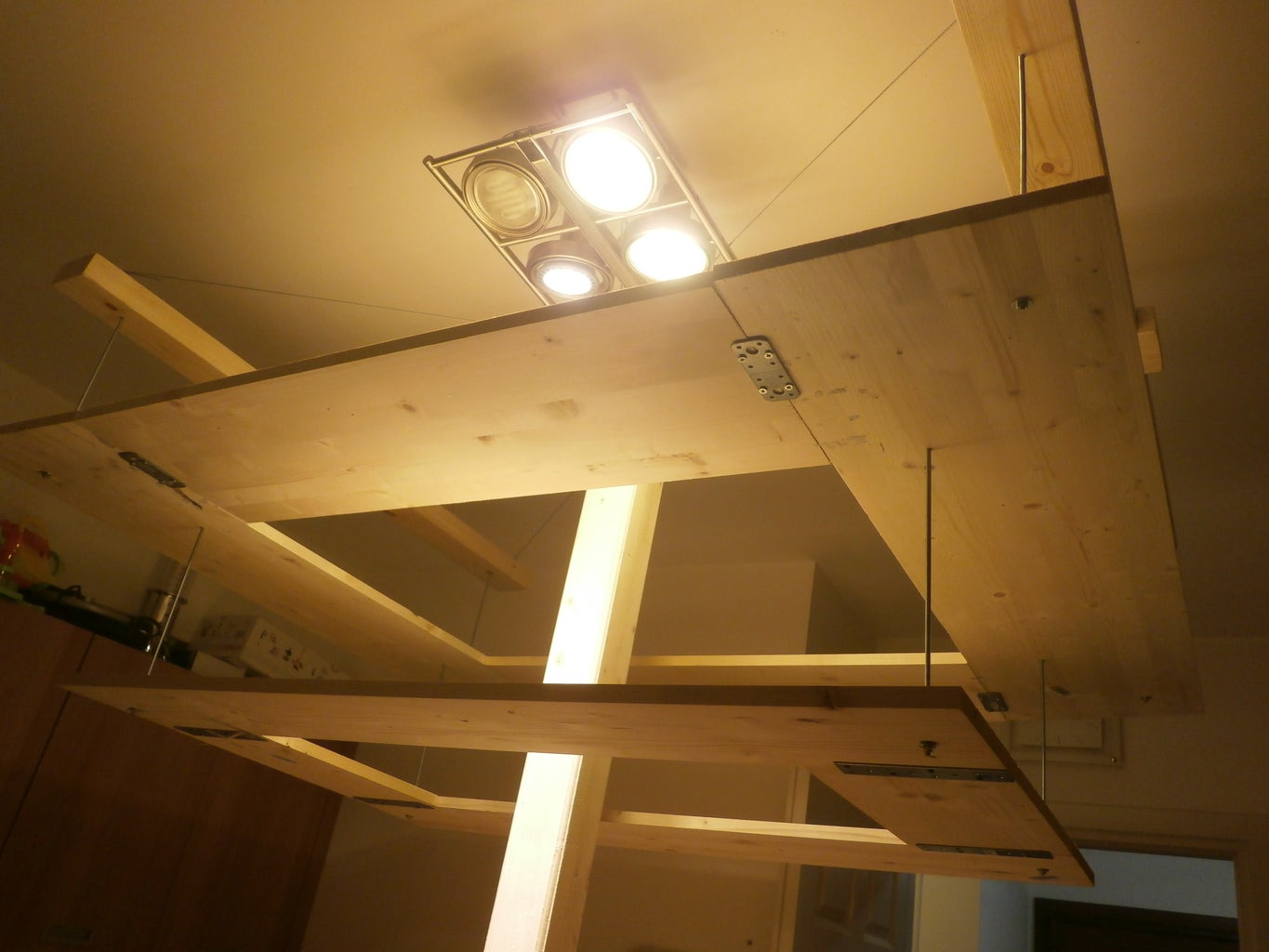 Step 6: Constructing and Hanging the Floating Shelves