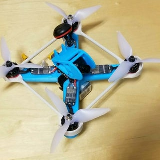 3D Printed FPV Racing / Freestyle Drone !