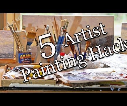 Painting Studio Hacks