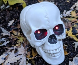 SpookyEyes Skull