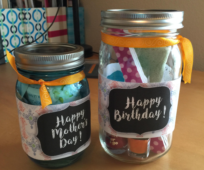 Mason Jar Gift Baskets