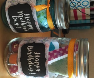 Mason Jar Gift Baskets