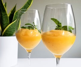 Peach Sangria Slushie