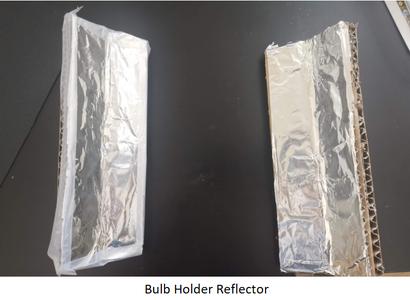 Building UV-C Bulb Shield