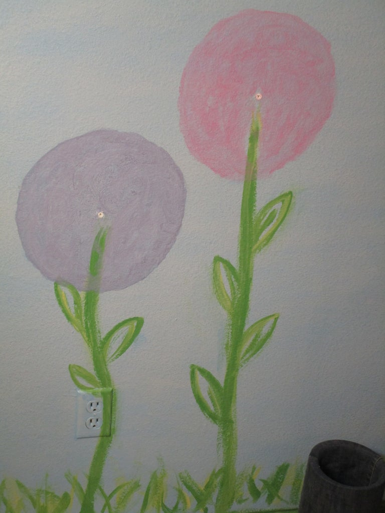 PAINT FLOWER STEMS