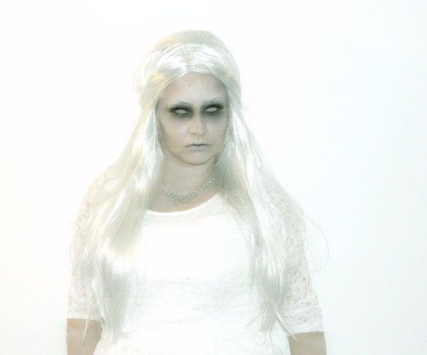 Ghost Halloween Makeup Tutorial