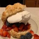Scratch Strawberry Shortcake