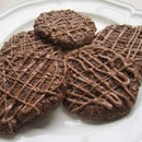 Chocolate Anzac Cookies